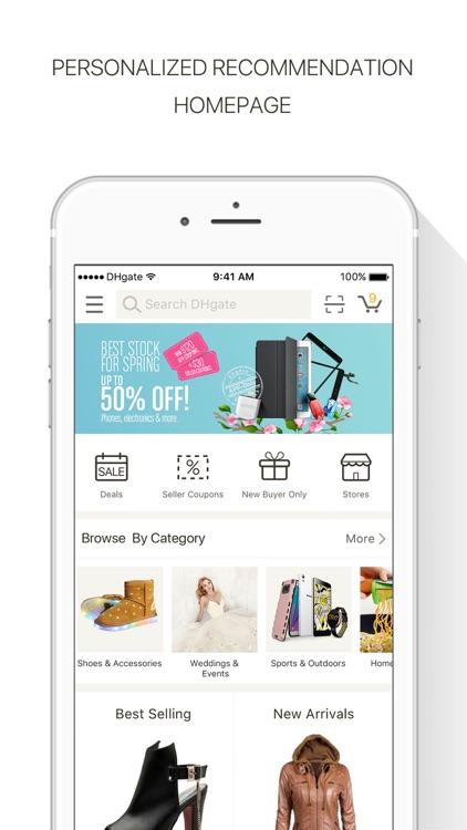 DHgate-Online Wholesale Stores screenshot-0