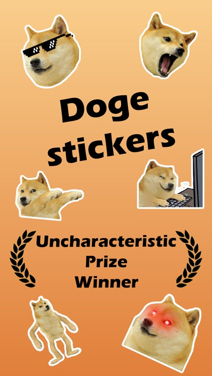 The Doge Stickers