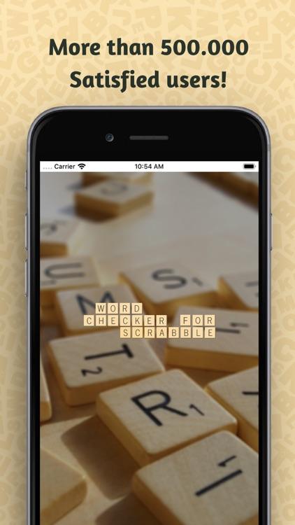 Word Checker for SCRABBLE® screenshot-0