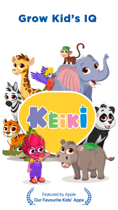Keiki Preschool Learning Gamesのおすすめ画像1