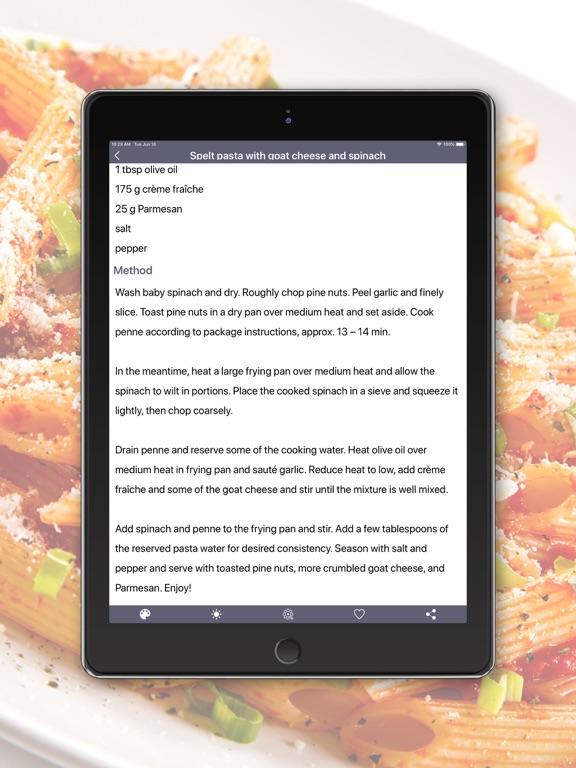 Pasta Recipes in English screenshot 7