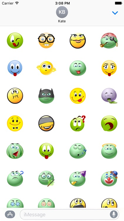 Funny Stickers Set
