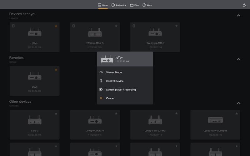vSolution App скриншот программы 2