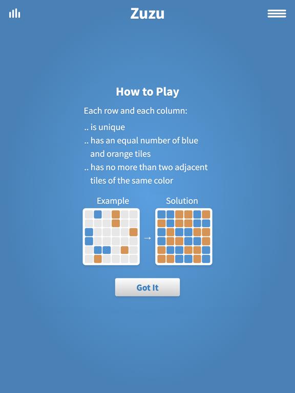Zuzu Logic Puzzles · Play and earn rewards screenshot