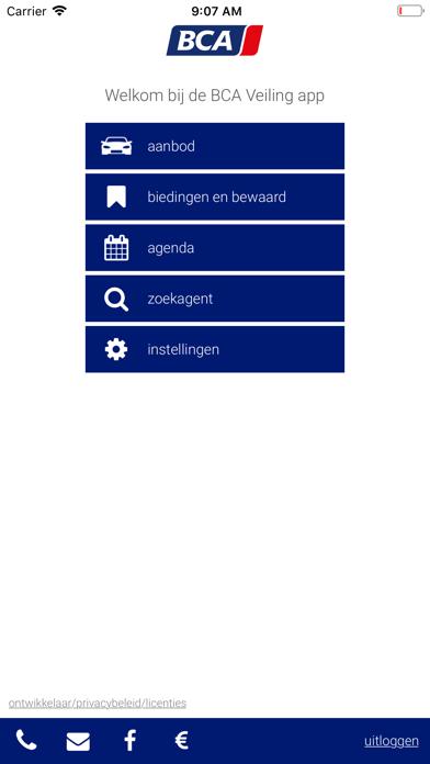 BCA Autoveiling screenshot one