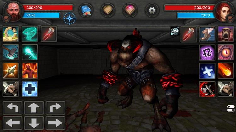 Moonshades RPG Dungeon Crawler screenshot-3