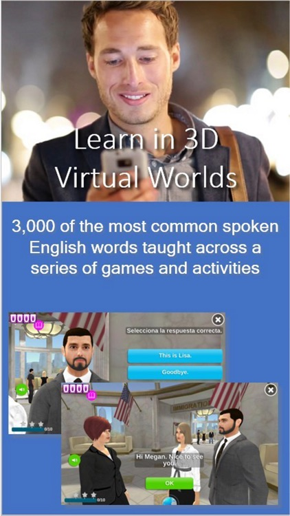 Learn English in FluentWorlds