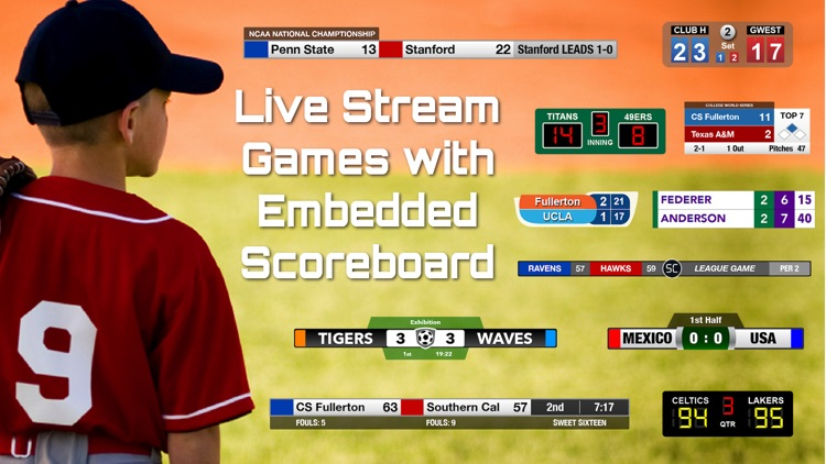 ScoreCam - Embedded Scoreboard screenshot-0