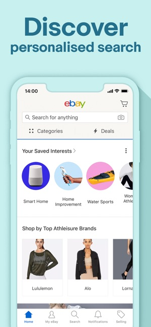 The best deals & brands - eBay on the App Store