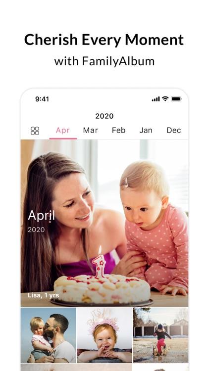 FamilyAlbum - Photo Sharing screenshot-0