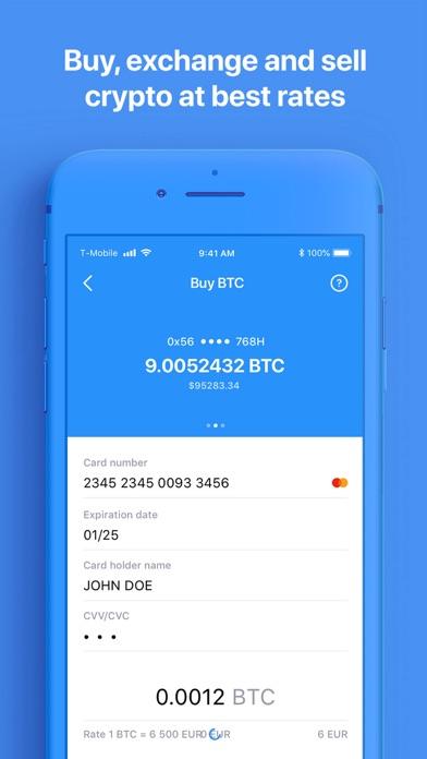 Crypterium | Bitcoin Wallet-2