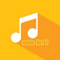 音楽プレイヤー Music LIST Z
