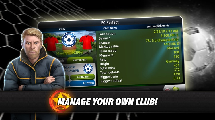 Goal Tactics - Football MMO screenshot-0