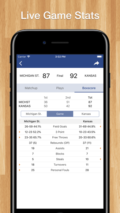 Scores App: College Basketball screenshot three