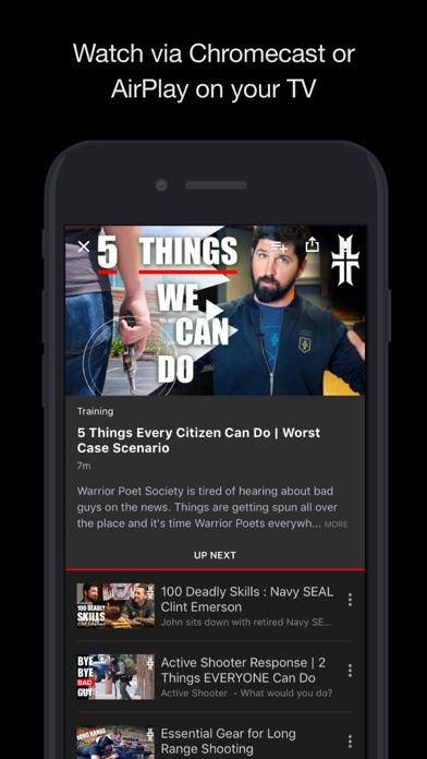 Warrior Poet Society Network Screenshot
