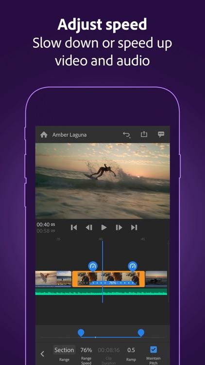 Adobe Premiere Rush for Video