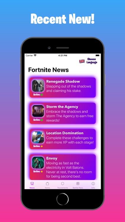 Latest Info for Fortnite screenshot-0