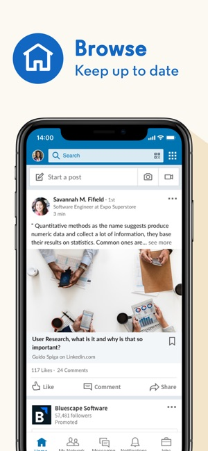 Linkedin dating app android