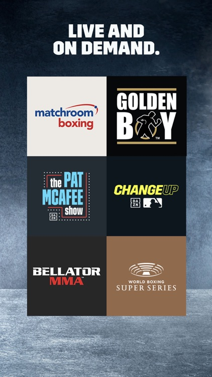 DAZN: Live Boxing, MMA & MLB screenshot-4
