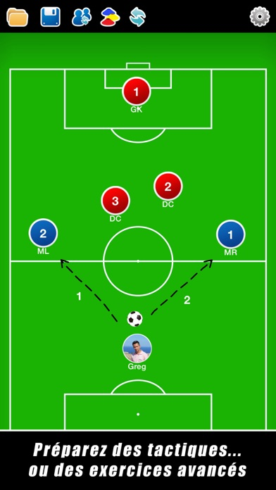 Screenshot for Planche Tactique: Football++ in Lebanon App Store