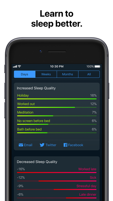 Sleep Cycle: smart alarm clock app image