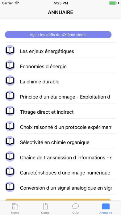 Chimie Terminale screenshot 7