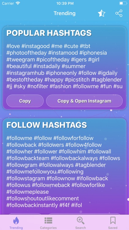 igTAG : Hashtags for Instagram
