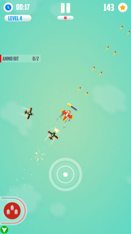 Man Vs. Missiles: Combat screenshot-4