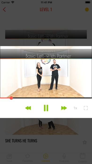 Salsa Go - Learn how to Dance screenshot