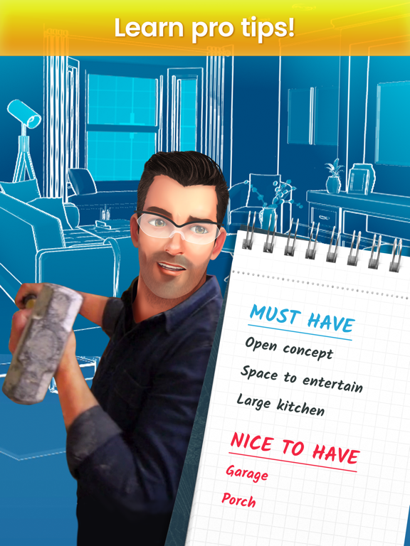 iPad Image of Property Brothers Home Design