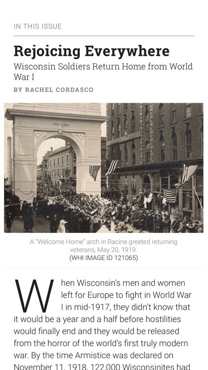 Wisconsin Magazine of History screenshot-3