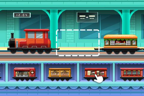 Train Builder - Games for kids - náhled