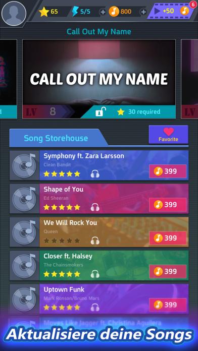Screenshot for Tap Tap Music-Pop Songs in Switzerland App Store