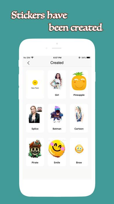 Fun Sticker - Make Sticker Screenshot
