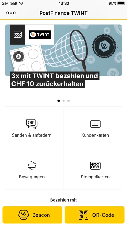 PostFinance TWINT