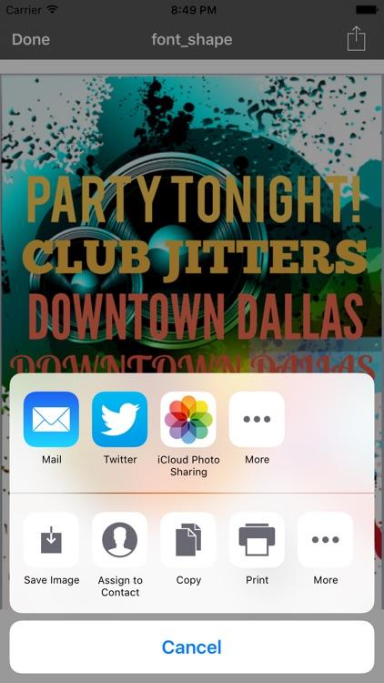 Flyer Designer Pro screenshot-4