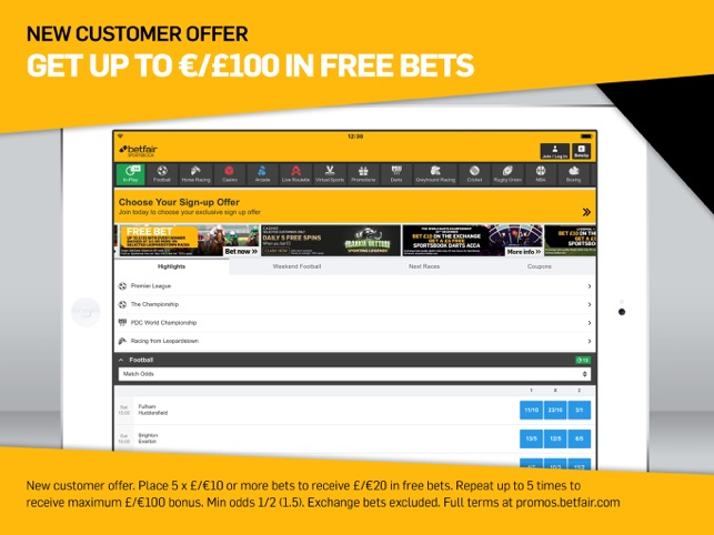 2cc315dd  Betfair Sports Betting on the App Store