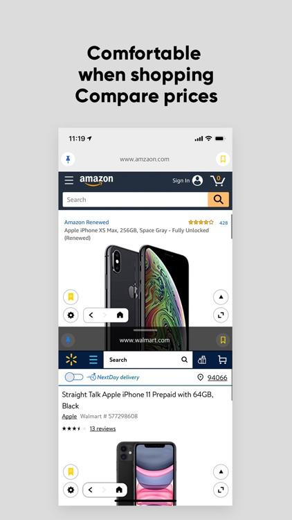 Multi View - Dual web browser screenshot-3