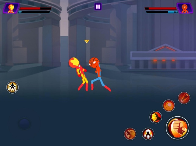 ‎Super Stickman Heroes Warriors Screenshot