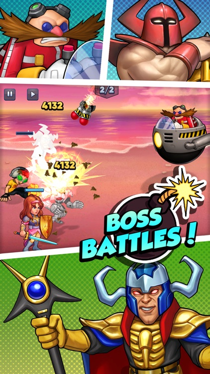 SEGA Heroes: Puzzle RPG Game screenshot-1