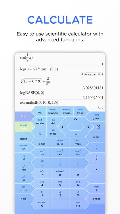 HyperCalc Graphing Calculator screenshot 1
