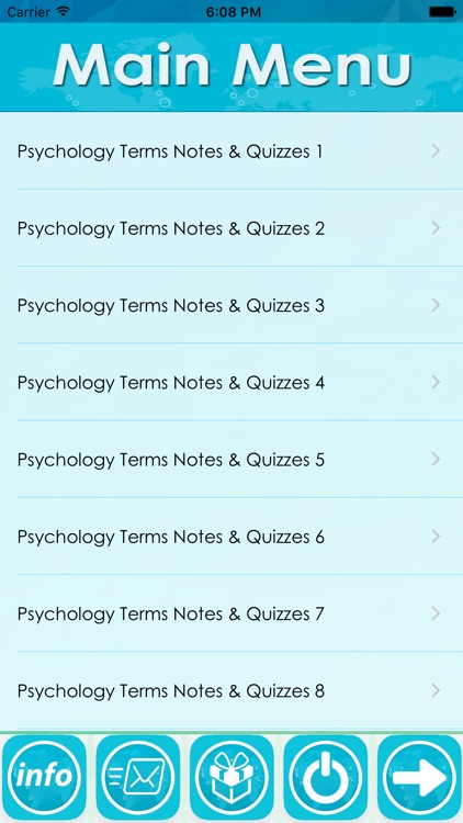 Psychology Terms Exam Review