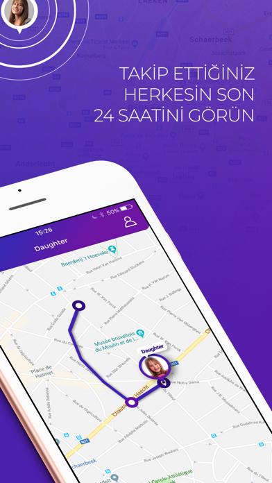 Screenshot for Live360 LOCO: Konum Takip in Turkey App Store