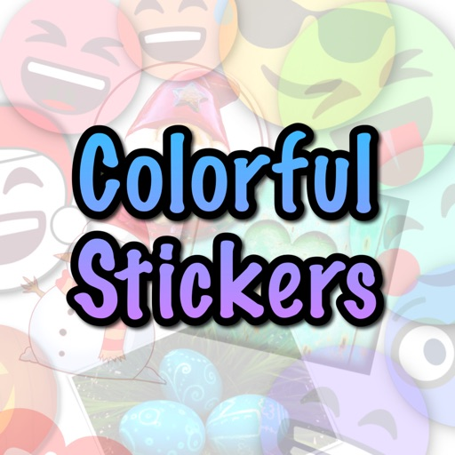 Colorful Stickers and Emoji