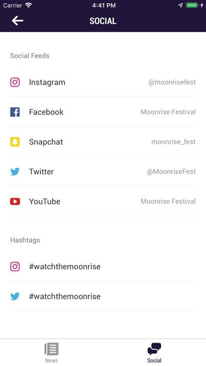 Moonrise Festival App screenshot-3
