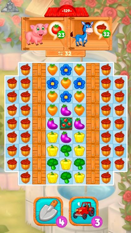Granny's Farm: Match-3 Game screenshot-5