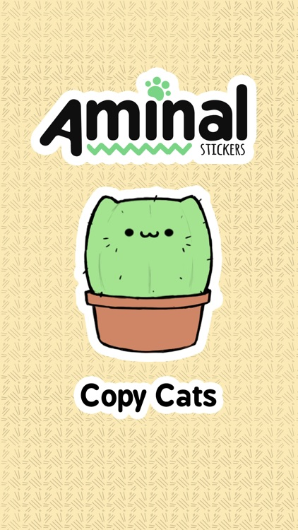 Copy Cats: Aminal Stickers screenshot-0