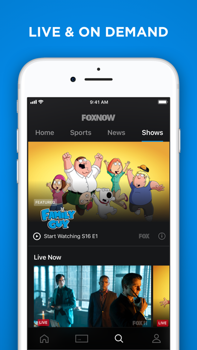 download FOX NOW: Watch TV & Sports apps 3