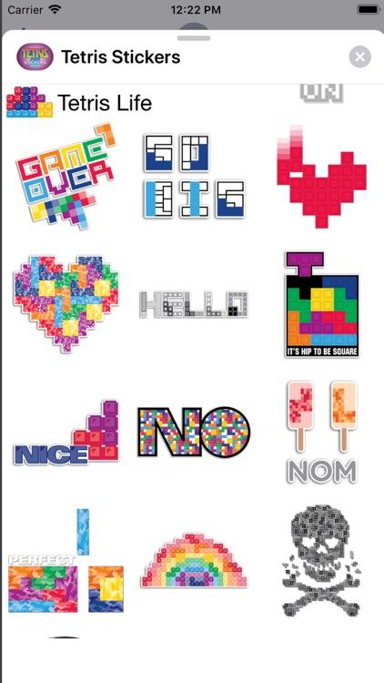 Tetris™ Stickers screenshot-3