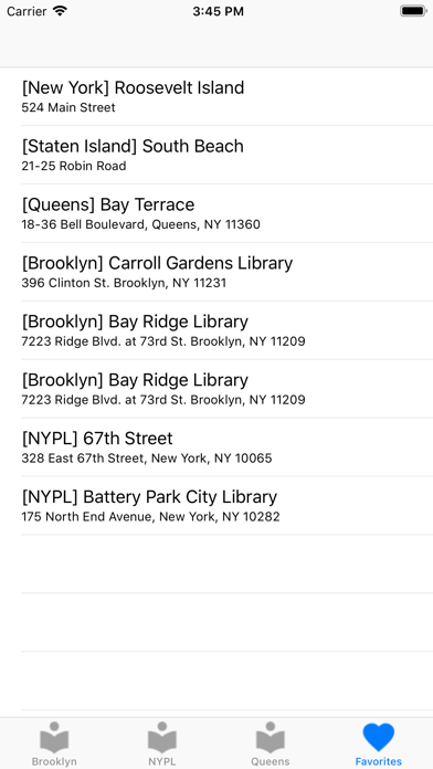 NYCPublicLibrary Screenshot